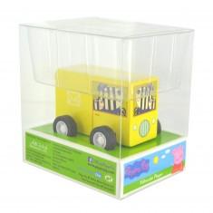 Véhicule à friction Peppa Pig : Camion jaune