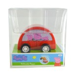 Véhicule à friction Peppa Pig : Voiture rouge