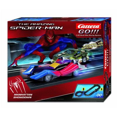 Circuit de voitures carrera spiderman jeux et jouets - Jeux de spiderman voiture ...