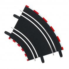 Circuit de voitures Carrera Digital 143 : Extension de 2 courbes à 45°