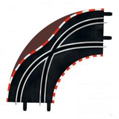 Circuit de voitures Carrera Digital 143 : Virage d'aiguillage 90°