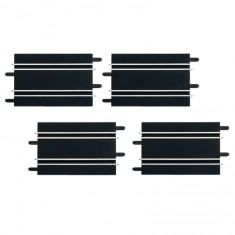 Circuit de voitures Carrera Go : Extension de 4 rails droits 17 cm