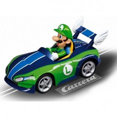 Voiture pour circuit Carrera Go Mario Kart WII : Wild Wing et Luigi