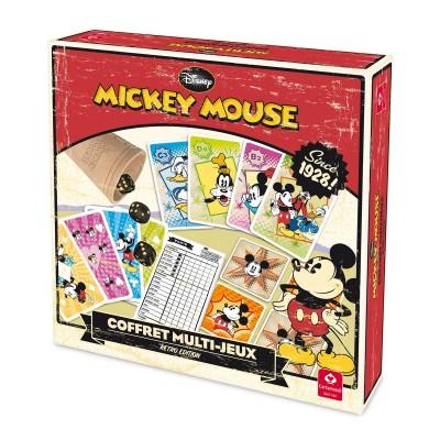 Coffret Multi-Jeux édition Rétro : Mickey Mouse - Cartamundi-100170907