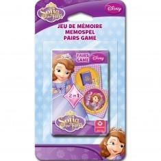 Jeu de cartes préscolaire Disney : Princesse Sofia
