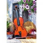 Puzzle 1000 pièces - La mélodie du violon