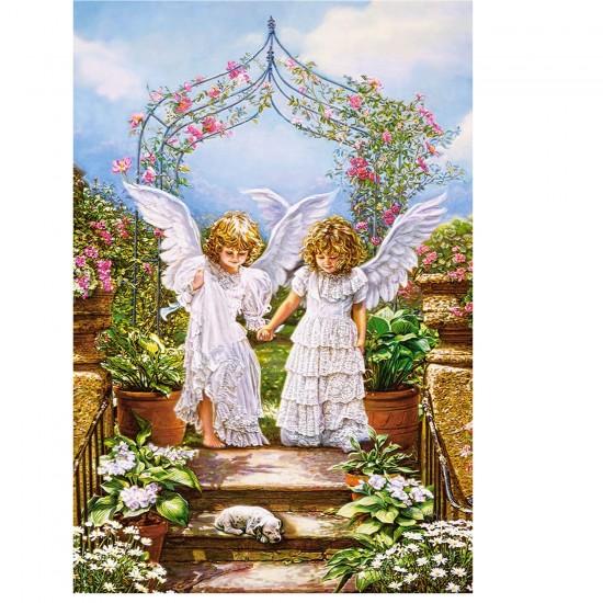 Puzzle 1000 pièces : Amitié entre les anges - Castorland-103225-2