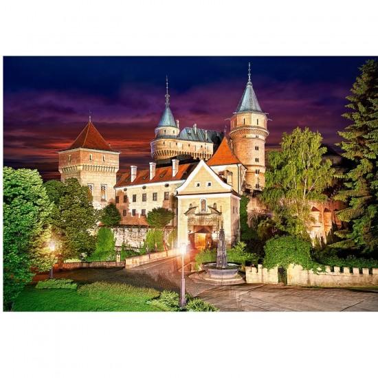Puzzle 1000 pièces : Château de Bojnice, Slovaquie - Castorland-103393-2