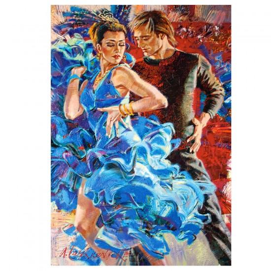Puzzle 1000 pièces : Danse endiablée - Castorland-103287-2