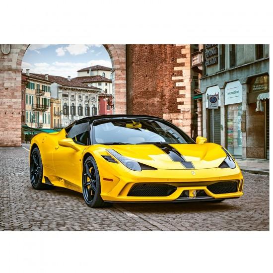 Puzzle 1000 pièces : Ferrari 458 - Castorland-103263-2