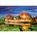 Puzzle 1000 pièces : Forteresse teutonique de Marienbourg, Pologne
