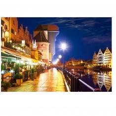 Puzzle 1000 pièces : Gdansk, Pologne