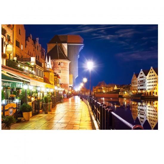 Puzzle 1000 pièces : Gdansk, Pologne - Castorland-103379-2