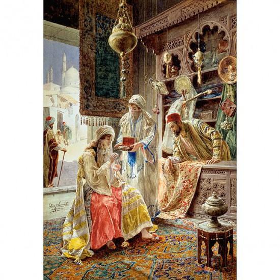 Puzzle 1000 pièces : La boîte à bijoux - Castorland-102945