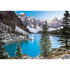 Puzzle 1000 pièces : le joyau des Rocheuses, Canada