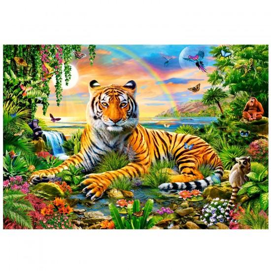 Puzzle 1000 pièces : Le roi de la jungle - Castorland-103300-2