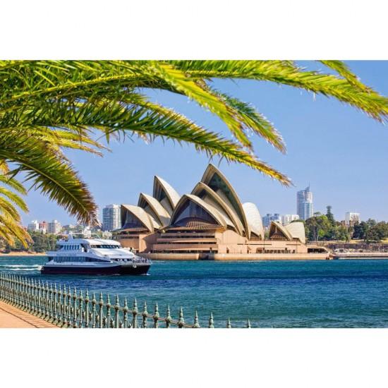 Puzzle 1000 pièces : L'Opéra de Sydney - Castorland-103003