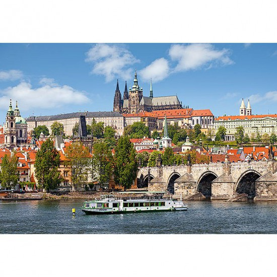 Puzzle 1000 pièces : Prague, République tchèque - Castorland-102426