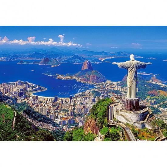 Puzzle 1000 pièces : Rio de Janeiro, Brésil - Castorland-102846