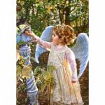 Puzzle 1000 pièces : Sandra Puck : L'ange et l'oiseau