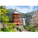 Puzzle 1000 pièces : Temple Seiganto-ji, Japon