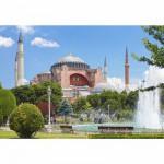Puzzle 1000 pièces - Cathédrale Sainte Sophie à Istanbul, Turquie
