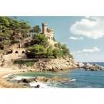 Puzzle 1000 pièces - Côtes d'Espagne : Lloret de Mar