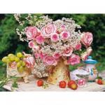 Puzzle 1000 pièces - Les plus belles fleurs de l'été