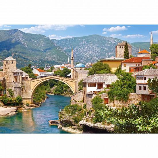 Puzzle 1000 pièces - Mostar, Bosnie Herzégovine - Castorland-102495