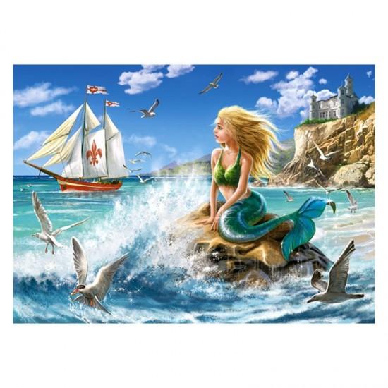 Puzzle 108 pièces : La Petite Sirène - Castorland-010103
