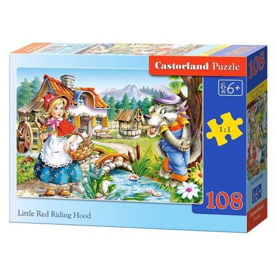 Puzzle 108 pièces : Le Petit Chaperon Rouge - Castorland-010080