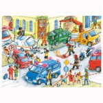 Puzzle 120 pièces : Accident de la circulation