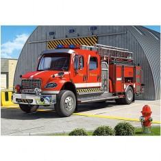 Puzzle 120 pièces : Camion de pompier