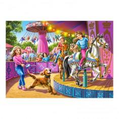 Puzzle 120 pièces : Carrousel