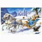 Puzzle 120 pièces : La reine des neiges