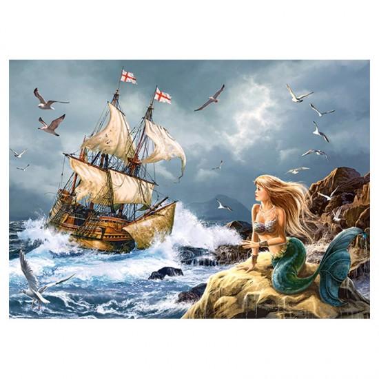 Puzzle 120 pièces : Les mystères de la mer - Castorland-B-13166-1