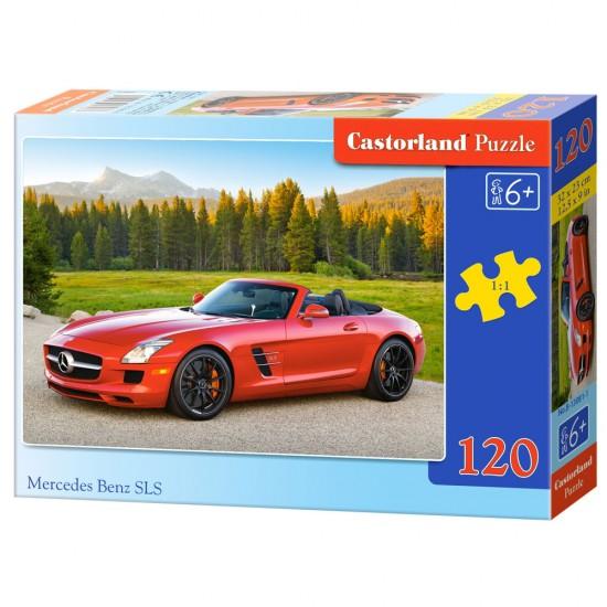 Puzzle 120 pièces : Mercedes Benz SLS - Castorland-13081