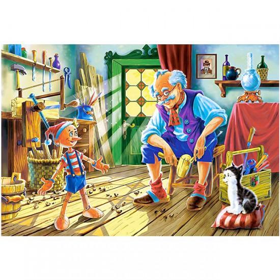 Puzzle 120 pièces : Pinocchio - Castorland-12787
