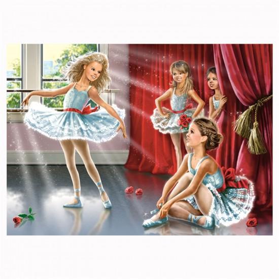 Puzzle 120 pièces : Répétition pour le ballet - Castorland-13036