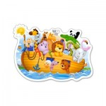 Puzzle 15 pièces : Arche de Noé