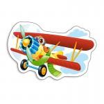 Puzzle 15 pièces : Avion rigolo