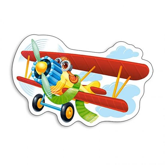 Puzzle 15 pièces : Avion rigolo - Castorland-015092