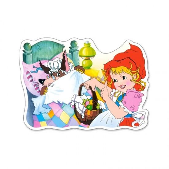 Puzzle 15 pièces : Le Petit Chaperon Rouge - Castorland-015030