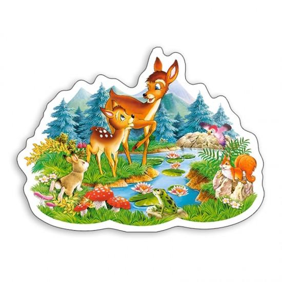 Puzzle 15 pièces : Petit faon - Castorland-015115