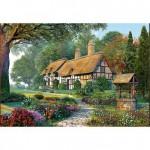 Puzzle 1500 pièces : Chaumière idyllique