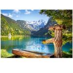 Puzzle 1500 pièces : Gosausee, Haute-Autriche