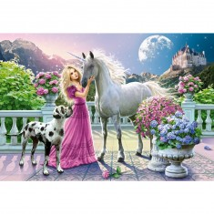 Puzzle 1500 pièces : Mon amie, la licorne