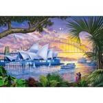Puzzle 1500 pièces : Opéra de Sydney