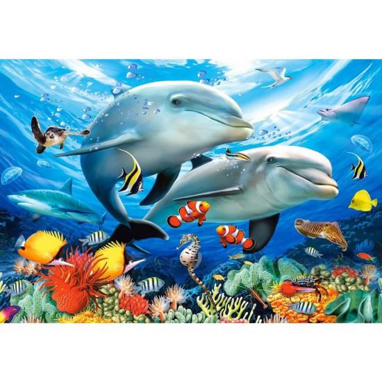 Puzzle 1500 pièces : Sous l'océan - Castorland-151257