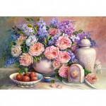 Puzzle 1500 pièces : Trisha Hardwick : Fleurs d'été